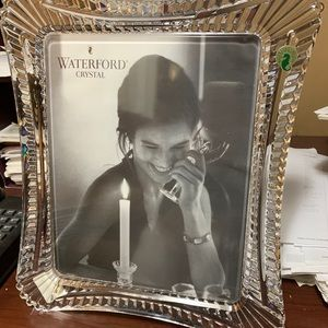 Waterford portraits crystal frame 8x10